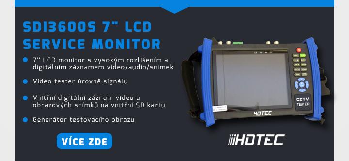 """SDI3600S 7"""" LCD service monito"""