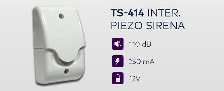 TS-414 Inter. piezo sirena