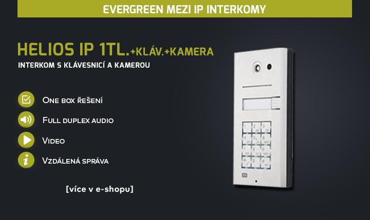 Helios IP 1tl.+kláv.+kamera