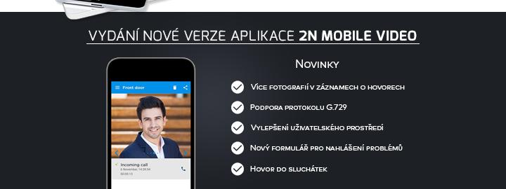 Nová verze 2N Mobile video