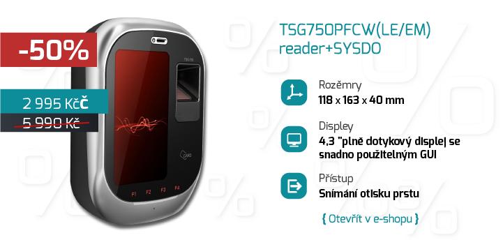 TSG750PFC(LE/EM) reader+SYSDO