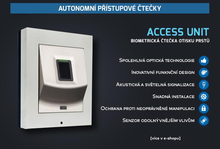 Access Unit Biometrická čtečka otisku prstů