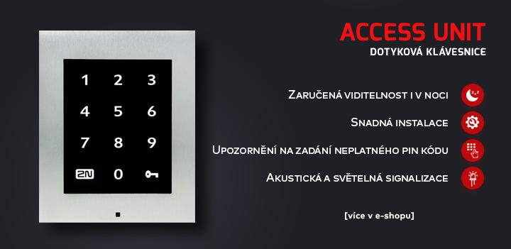 Access Unit Dotyková klávesnice