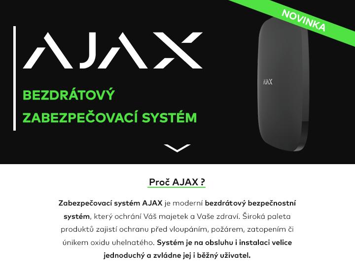 Bezdrátový zabezpečovací systém Ajax