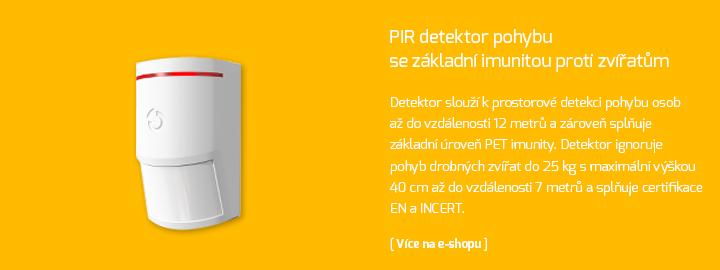 Bezdrátový PIR detektor pohybu