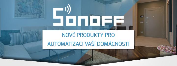 SONOFF nové produkty