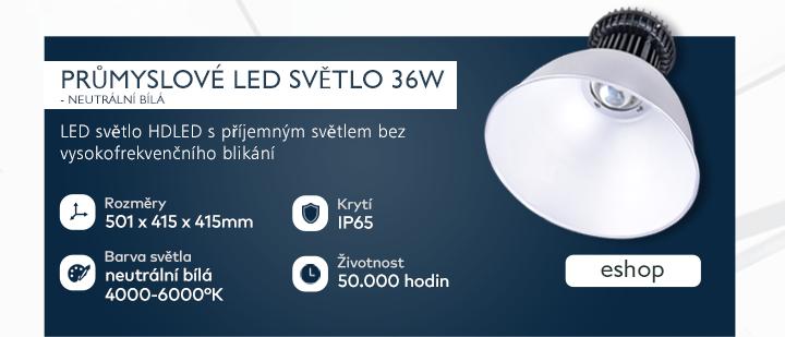 Průmyslové LED světlo