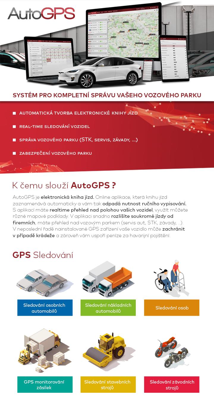 AutoGPS - správa vozového parku