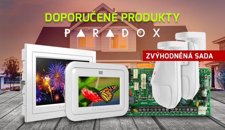 Doporučené produkty Paradox