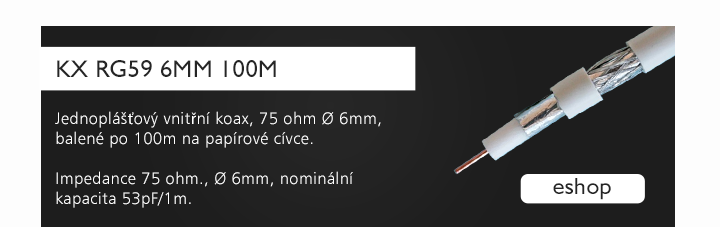 KX RG59 6mm 100m