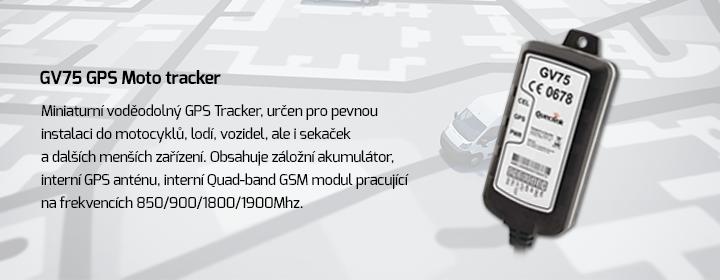 GV75 GPS Moto tracker