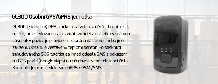 GL300 Osobní GPS/GPRS jednotka
