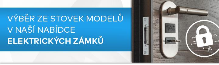 výběr ze stovek modelů v naší nabídce elektrických zámků