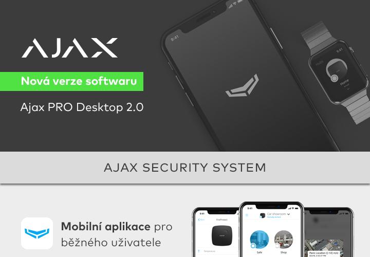 Ajax - Nová verze softwaru