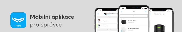 Mobilní aplikace pro správce