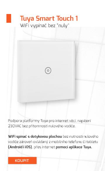 """WiFi vypínač bez """"nuly"""""""
