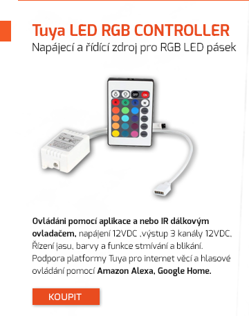 Napájecí a řídící zdroj pro RGB LED pásek