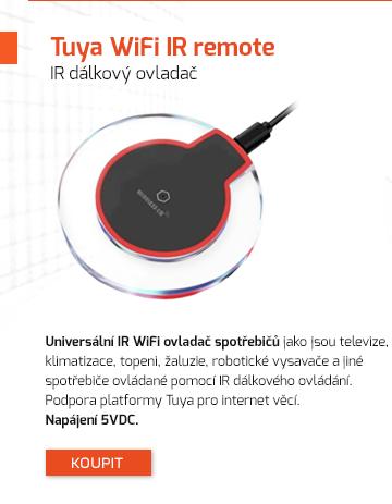 Universální IR WiFi ovladač spotřebičů
