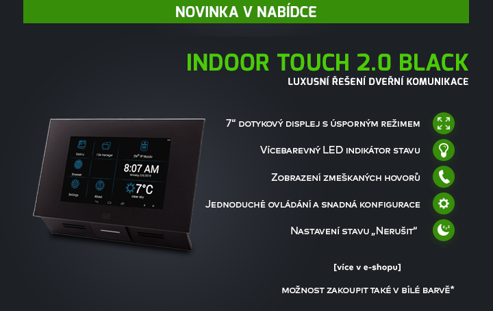 Indoor Touch 2.0 Black