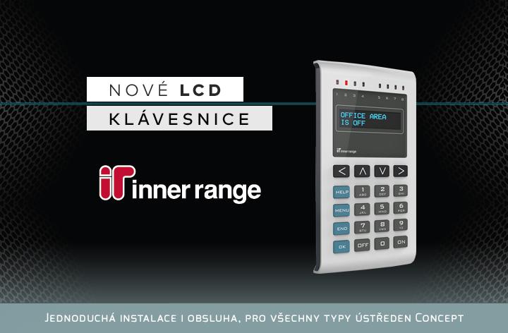 Nové LCD klávesnice IR EliteX