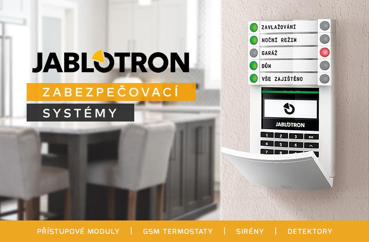 Zabezpečovací systémy Jablotron