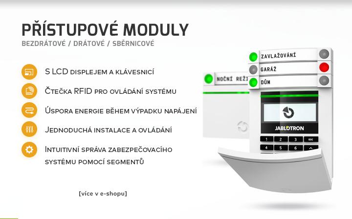 Přístupové moduly