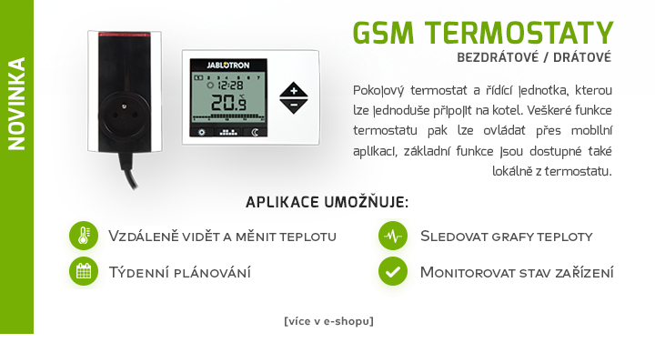 GSM termostaty