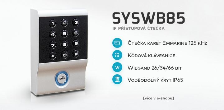 SYSWB85 - IP přístupová čtečka