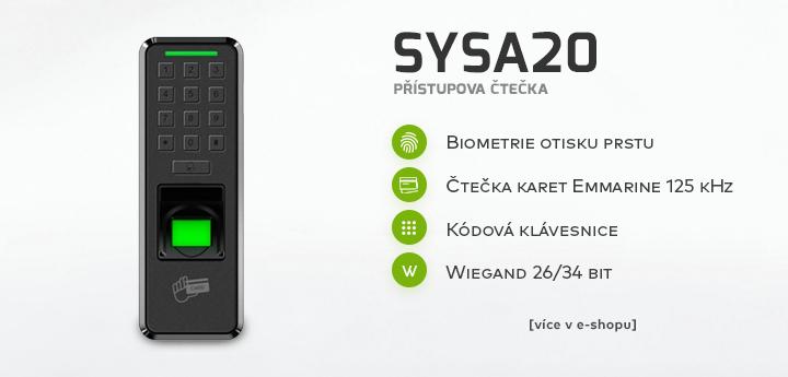 SYSA20 - přístupová čtečka