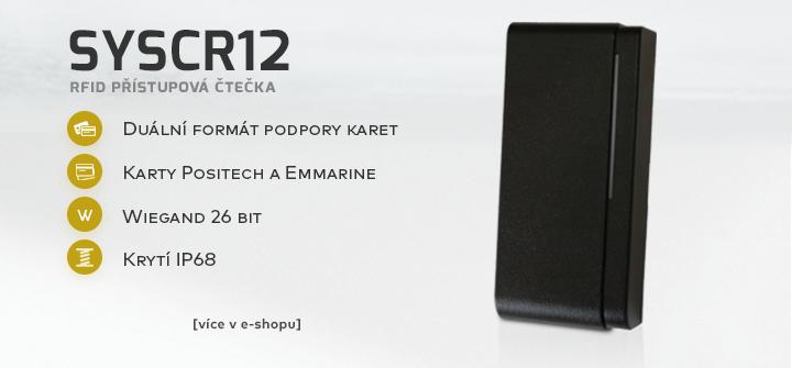 SYSCR12 - RFID přístupová čtečka