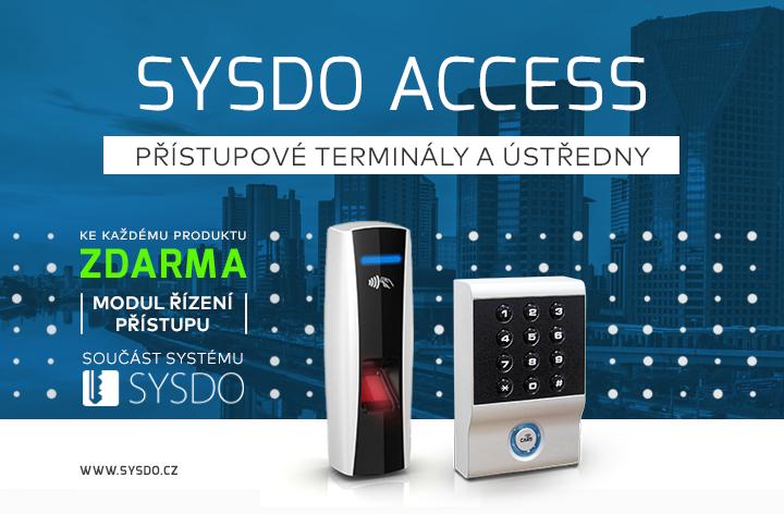 Přístupové terminály a ústředny SYSDO