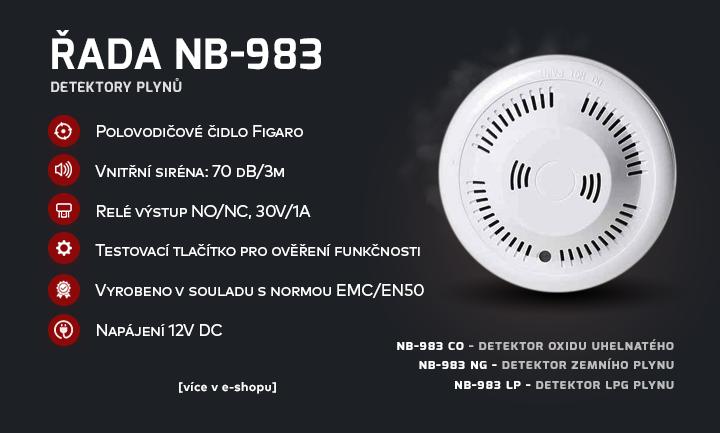 Detektory plynů NB-983
