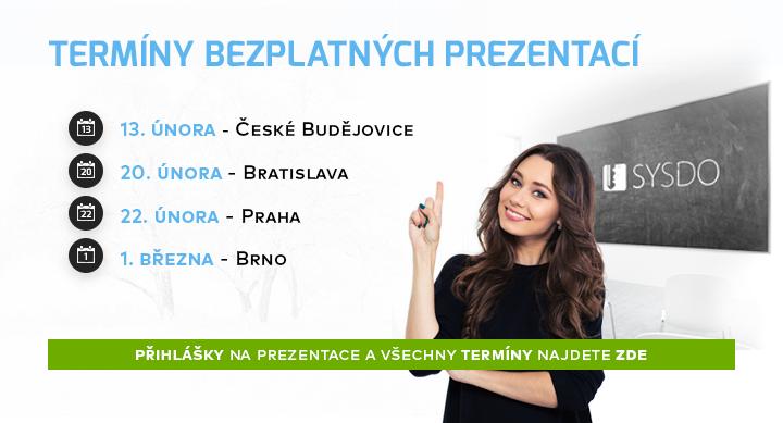 |  Termíny bezplatných prezentací  |
