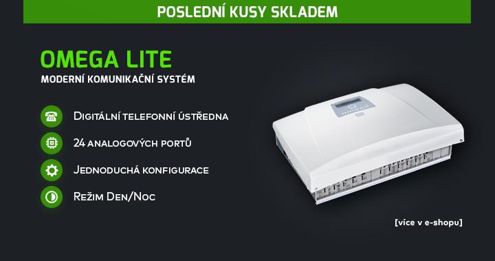 |  Moderní komunikační systém Omega Lite  |