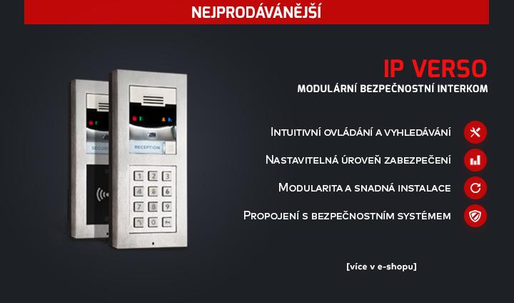 |  Modulární bezpečnostní interkom IP Verso  |