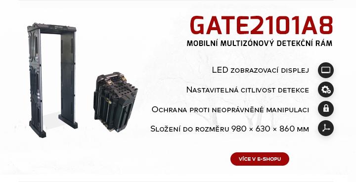 |  Mobilní multizónový detekční rám Gate2101A8  |