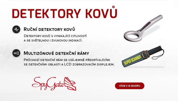 |  Detektory kovů  |
