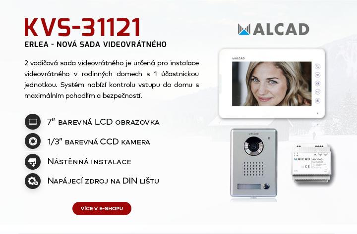 |  Nová sada videovrátného Alcad  |