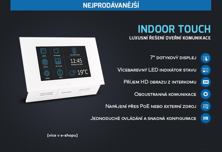 |  Indoor Touch - dveřní komunikátor  |