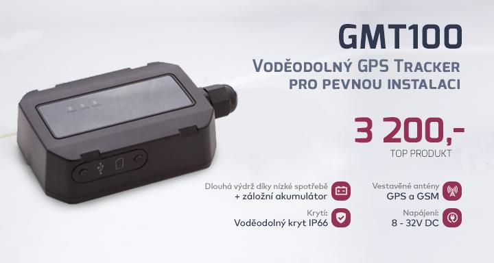 |  GPS tracker pro pevnou instalaci GMT100  |