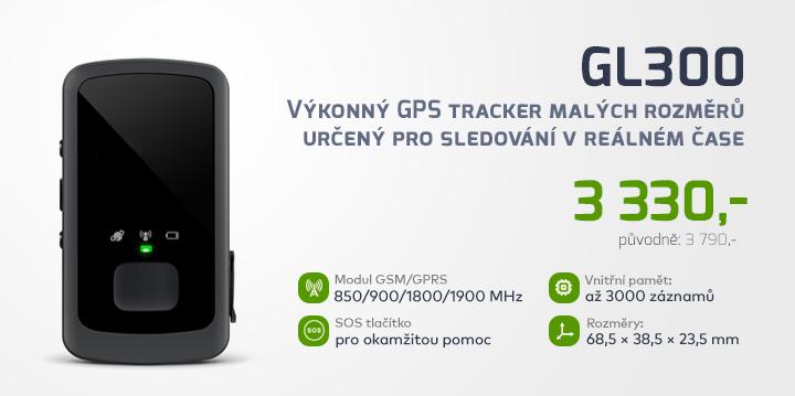 |  Výkonný osobní GPS tracker GL300  |