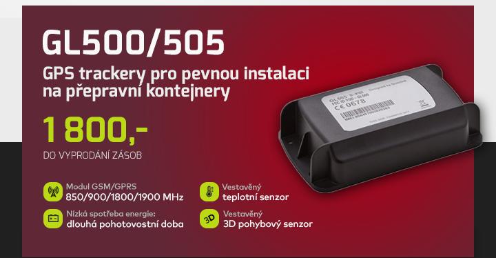 |  GPS trackery pro pevnou instalaci GL500/505  |