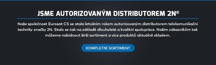 |  Jsme autorizovaným distributorem 2N  |