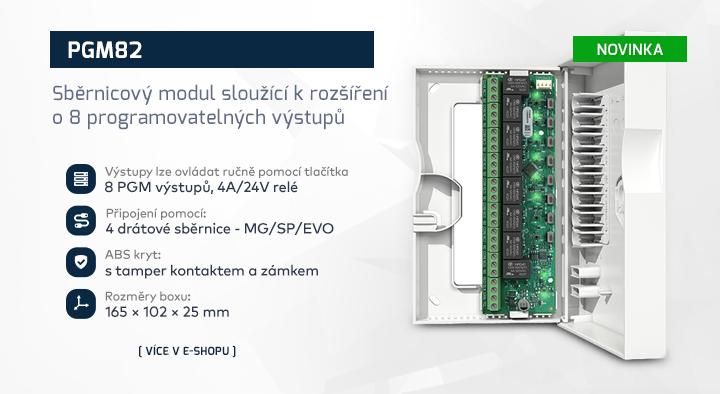 |  Sběrnicový modul PGM82  |
