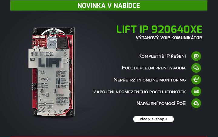 |  Lift IP výtahový VoIP komunikátor  |