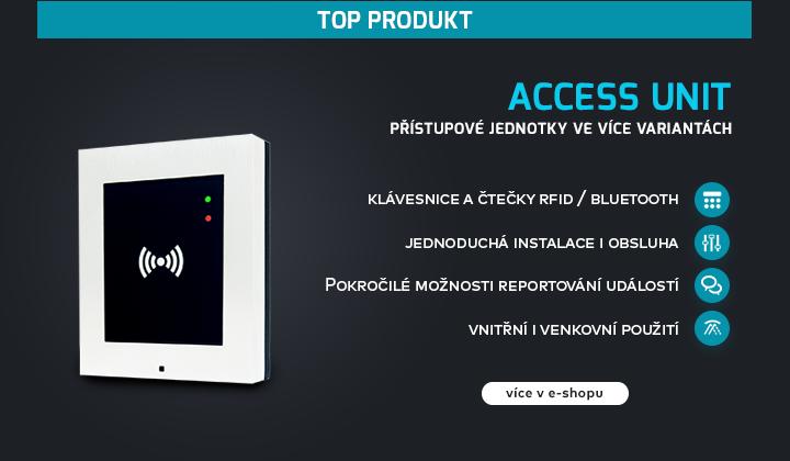 |  Access Unit - IP přístupové jednotky  |