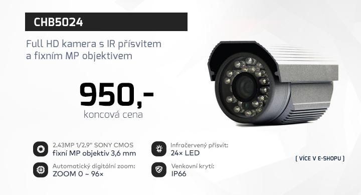 |  CHB5024 - Full HD kamera s fixním objektivem  |