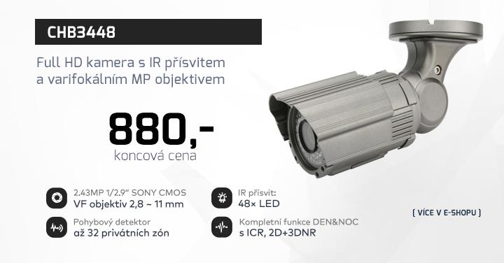 |  CHB3448 - Full HD kamera s varifokálním objektivem  |