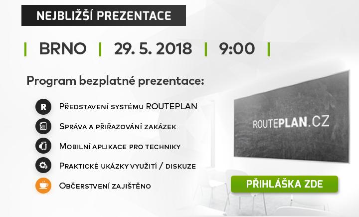 |  Bezplatná prezentace Brno - 29. 5. 2018  |