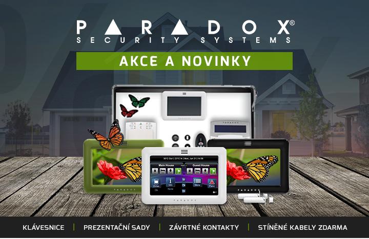 |  Akce a novinky Paradox  |